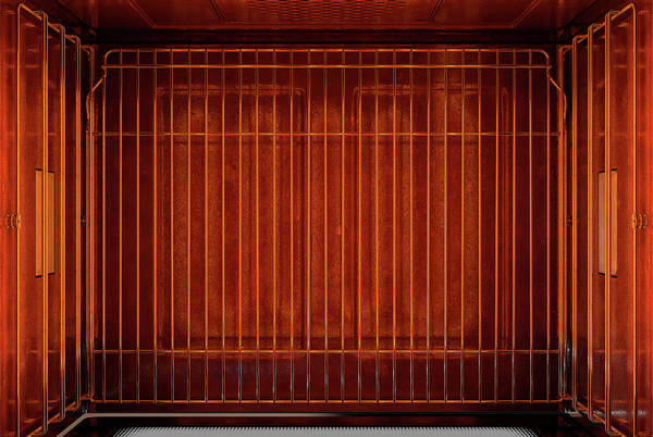 Warmth Digital Art - Inside The Oven From Above by Allan Swart