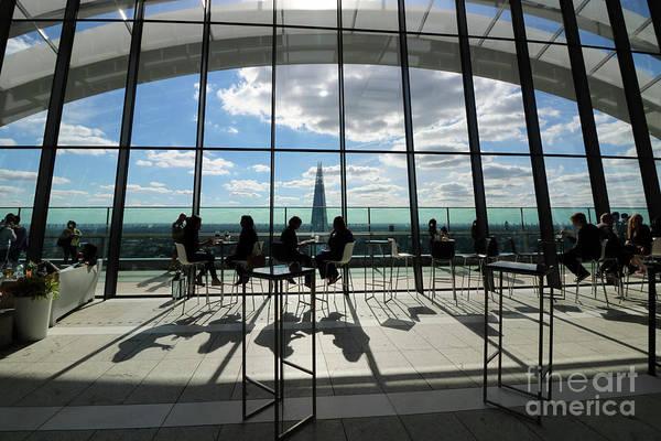 Photograph - Inside The Walkie Talkie Building London by Julia Gavin