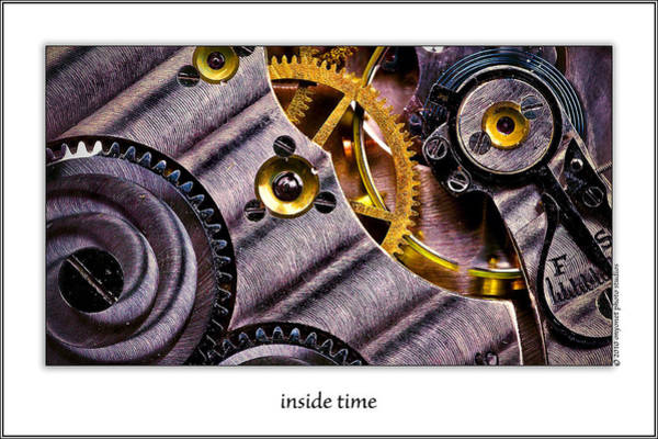 Photograph - Inside Time by  Onyonet  Photo Studios