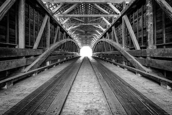 Photograph - Into The Light by Ryan Wyckoff
