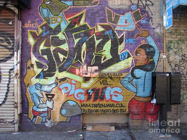 Photograph - Inwood Graffiti  by Cole Thompson