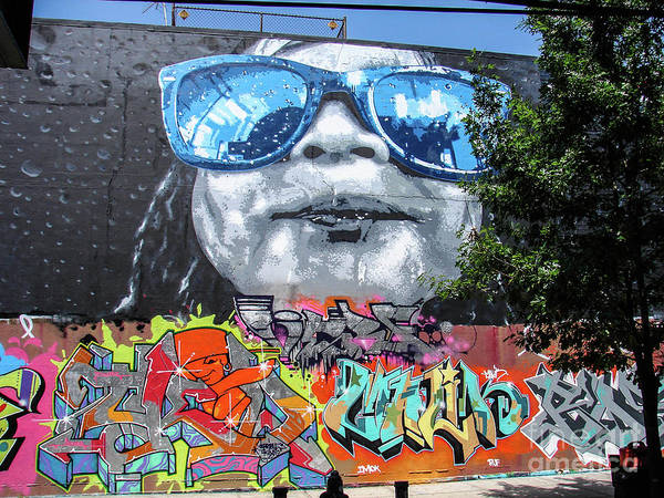 Photograph - Inwood Street Art  by Cole Thompson