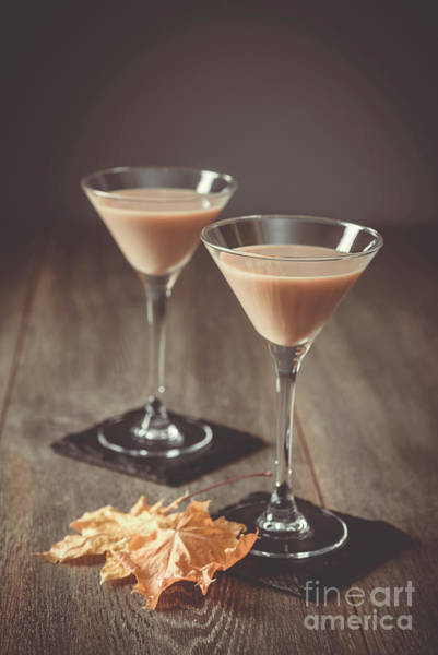Cocktail Shaker Photograph - Irish Cream Liqueurs by Amanda Elwell