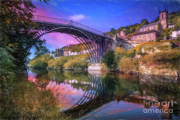Photograph - Iron Bridge 1779 by Adrian Evans