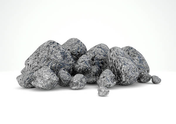 Wall Art - Digital Art - Iron Ore Nugget Collection by Allan Swart