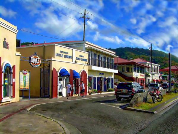 Photograph - Island Retail Shops by Anthony Dezenzio