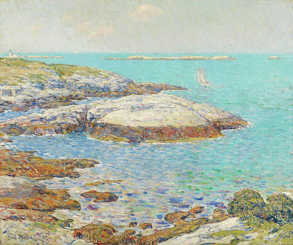 Frederick County Wall Art - Painting - Isles Of Shoals by Childe Hassam