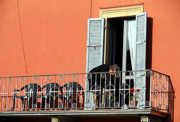 Wall Art - Photograph - Italian Balcony by Valentino Visentini