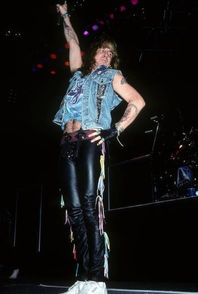 Photograph - Jack Russell Of Great White by Rich Fuscia