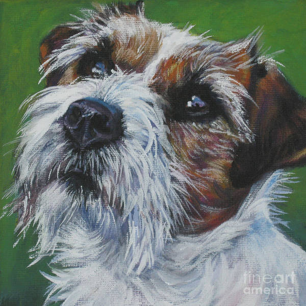 Jack Russell Wall Art - Painting - Jack Russell Terrier by Lee Ann Shepard