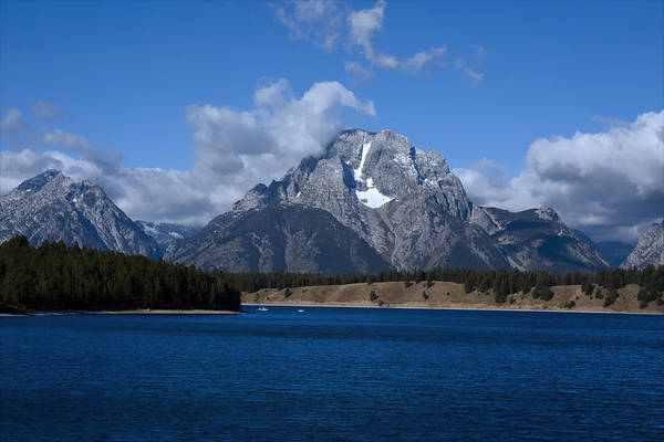 Photograph - Jackson Lake by Mark Smith
