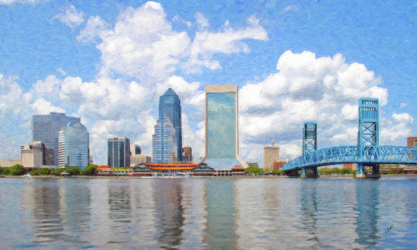 Painting - Jacksonville - Dwp77804 by Dean Wittle
