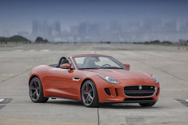 Photograph - Jaguar F-type Convertible by ItzKirb Photography