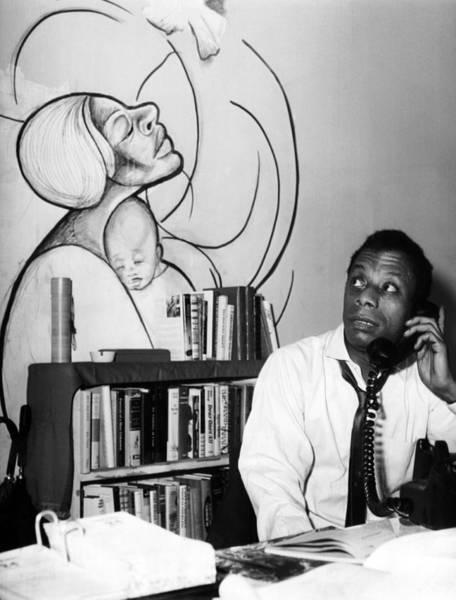 Wall Art - Photograph - James Baldwin, 1963 by Everett
