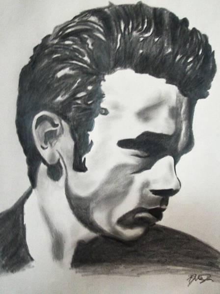 Wall Art - Drawing - James Dean by Mikayla Ziegler