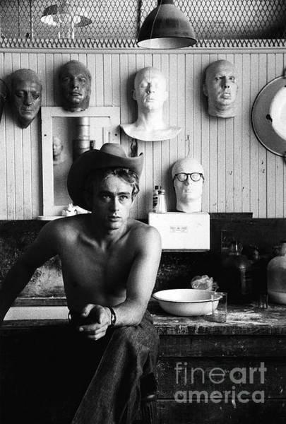 Photograph - James Dean by Sanford Roth