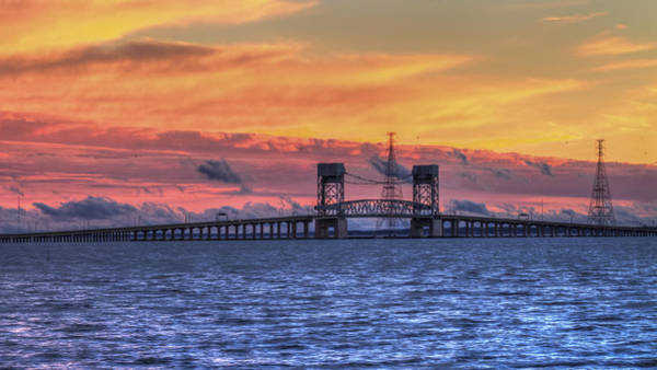 Photograph - James River Bridge by Jerry Gammon
