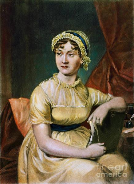 Jane Austen Wall Art - Photograph - Jane Austen (1775-1817) by Granger
