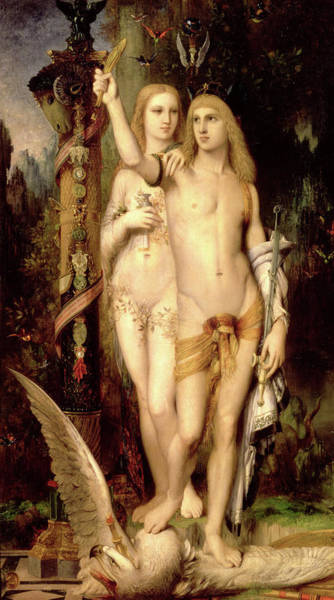 Wall Art - Painting - Jason And Medea by Gustave Moreau
