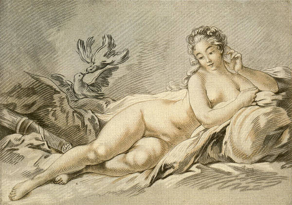 Wall Art - Drawing - Jeanne Antoinette Poisson, Marquise De by Vintage Design Pics
