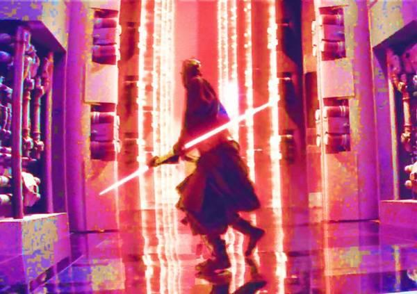 Star Wars Episode 3 Wall Art - Digital Art - Jedi Star Wars Art by Larry Jones