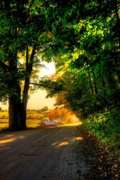 Ives Photograph - Jenne Farm - Autumn In New England by Joann Vitali