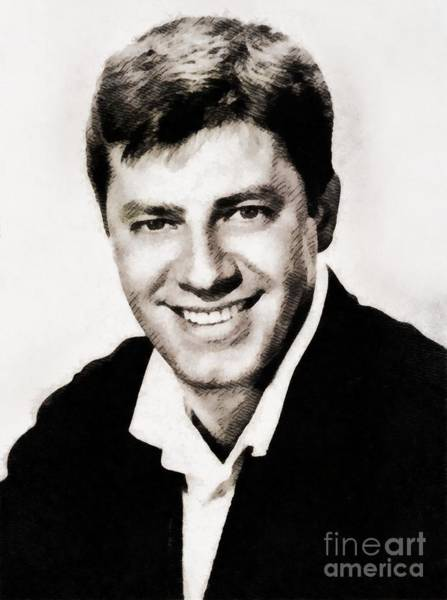 Wall Art - Painting - Jerry Lewis By John Springfield by John Springfield