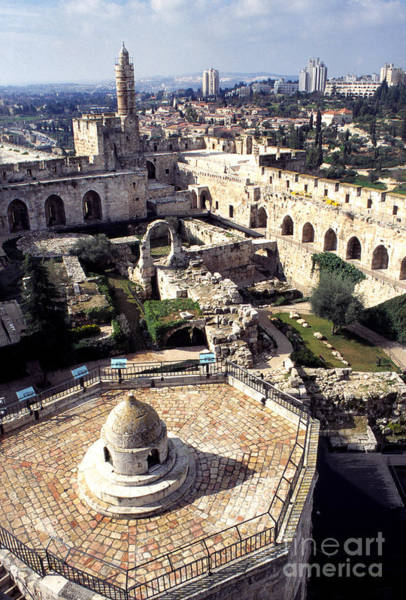 Photograph - Jerusalem From The Tower Of David Museum by Thomas R Fletcher
