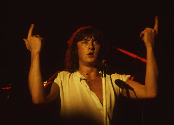Photograph - Joe Elliott Of Def Leppard by Rich Fuscia