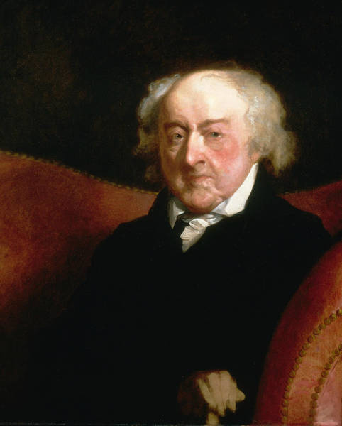 Painting - John Adams by Gilbert Stuart