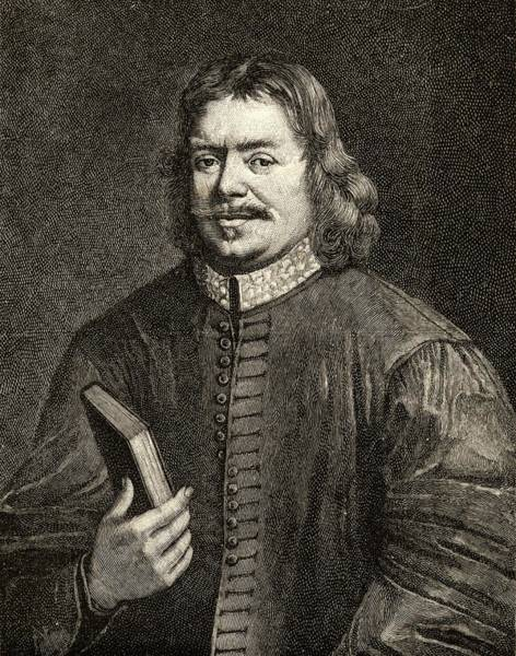 Wall Art - Drawing - John Bunyan 1628-1688. Author Of by Vintage Design Pics