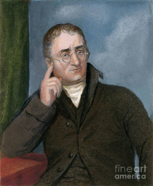 Drawing - John Dalton  by Granger