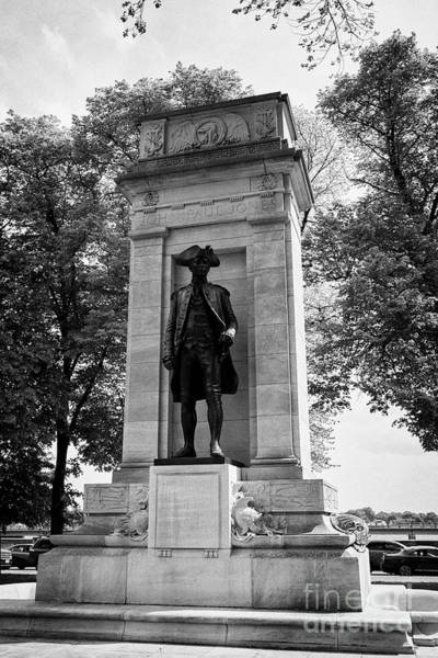 John Paul Jones Photograph - John Paul Jones Memorial Washington Dc Usa by Joe Fox