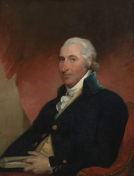 Painting - John Shaw by Gilbert Stuart