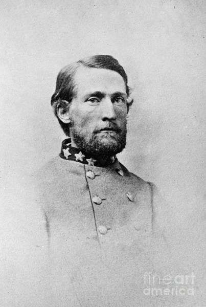 Cavalry Photograph - John Singleton Mosby by Granger