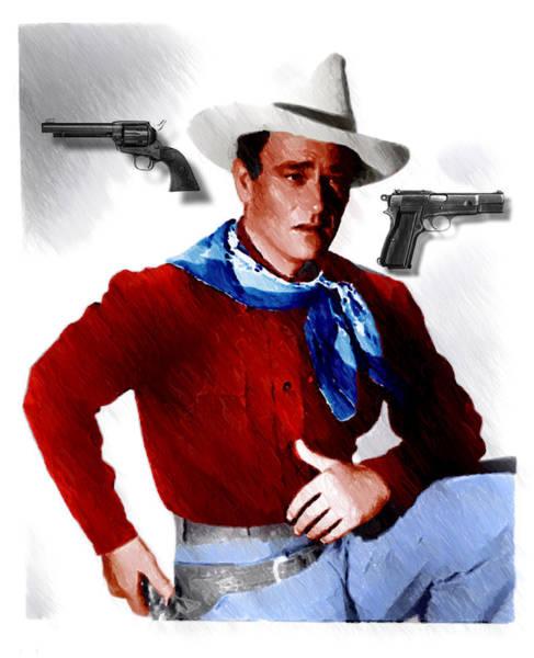 Photograph - John Wayne by Ericamaxine Price
