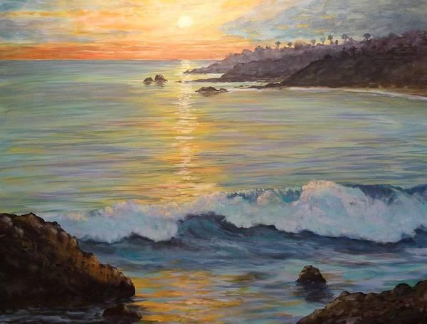 Laguna Beach Painting - John's Heaven by John Loyd Rushing