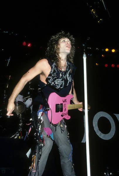 Photograph - Jon Bon Jovi by Rich Fuscia