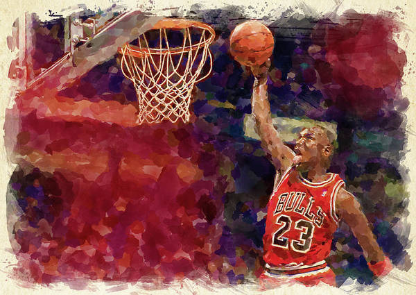 Wall Art - Digital Art - Jordan by Ricky Barnard