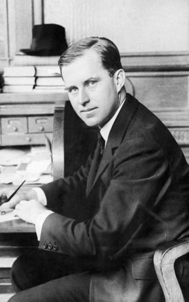 Photograph - Joseph Kennedy by Underwood Archives