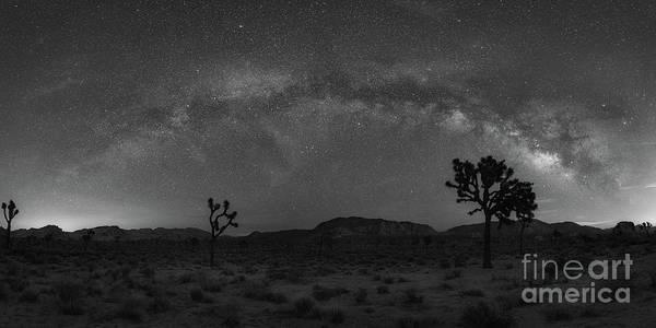 Strobist Wall Art - Photograph - Joshua Tree Milky Way Panorama by Michael Ver Sprill