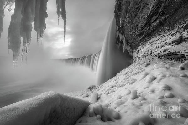 Photograph - Journey Behind The Falls by Michael Ver Sprill