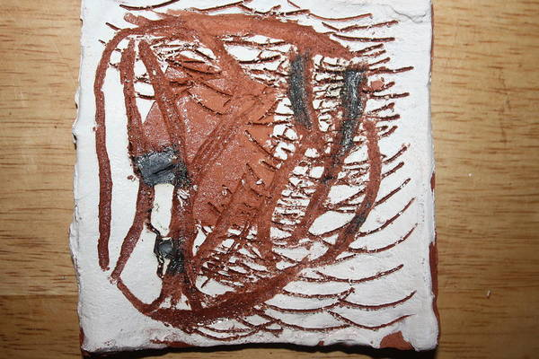 Ceramic Art - Journeys 6 - Tile by Gloria Ssali