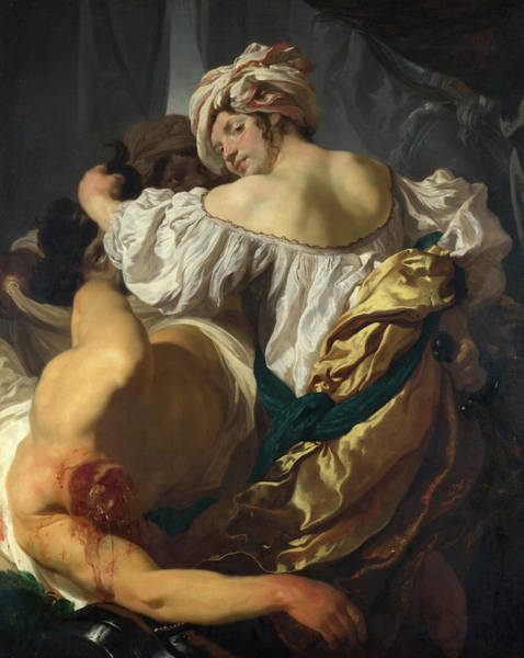 Beheaded Wall Art - Painting - Judith In The Tent Of Holofernes by Johann Liss