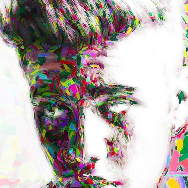 Musicians Wall Art - Photograph - #justinbieber @justinbieber by David Haskett II