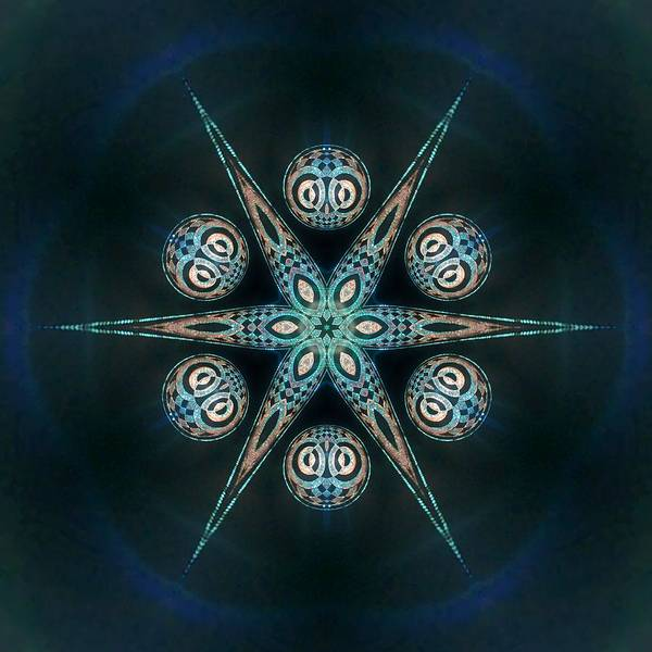 Digital Art - Jyoti Ahau 55 by Robert Thalmeier