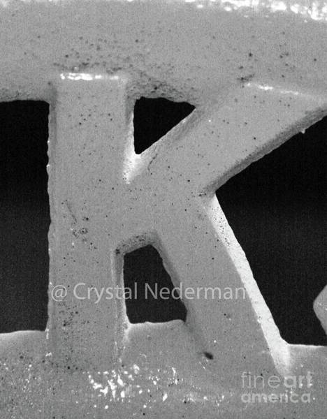 Photograph - K-5 by Crystal Nederman