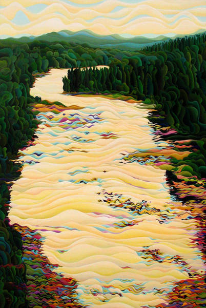 Painting - Kakabeca River Dance by Amy Ferrari