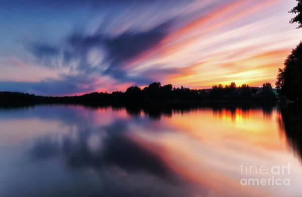 Photograph - Kamien Lake by Mariusz Talarek