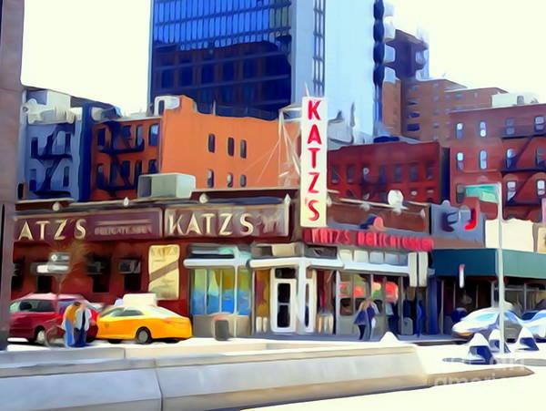 Wall Art - Photograph - Katz's Delicatessan by Ed Weidman
